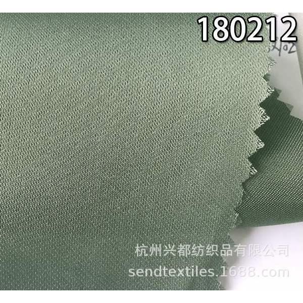 180212全人丝缎纹服装面料 春夏女装女裙衬衫梭织面料