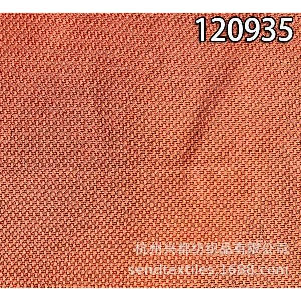 120935加捻人丝面料  人丝粘亚麻小提花西装外套面料