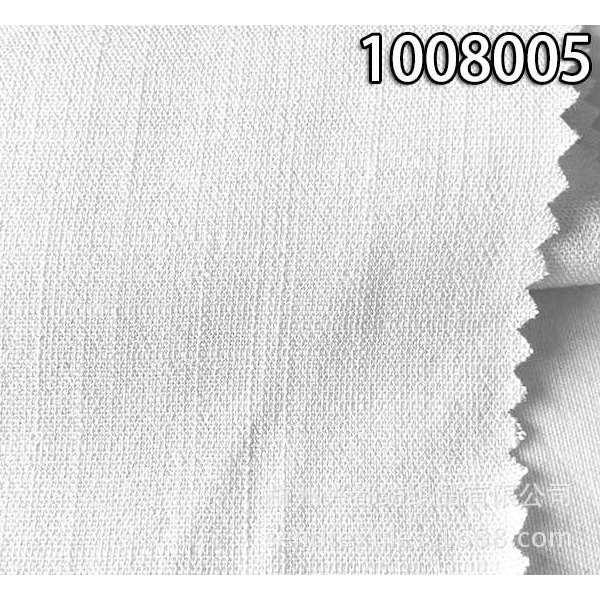 1008005平纹人棉竹节纬弹