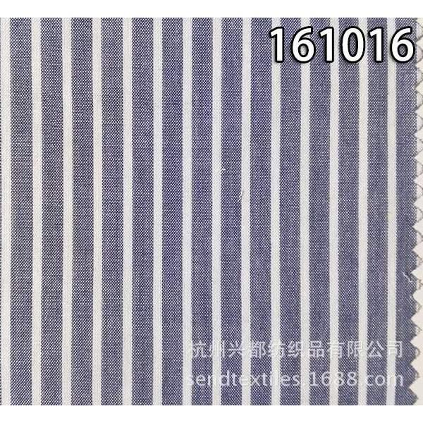 161016棉天丝色织平纹面料