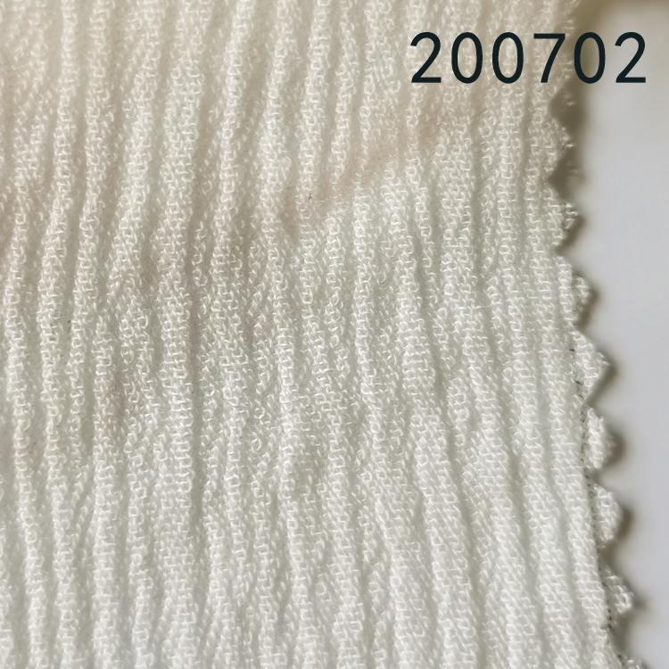 200702天丝人棉顺圩绉春夏衬衫休闲服装面料