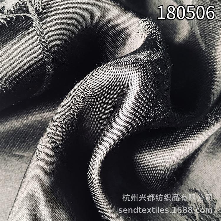 180506人丝人棉大提花连衣裙面料