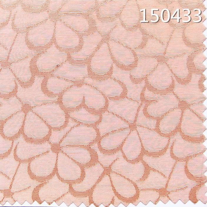 150433人丝人棉交织女装连衣裙提花面料