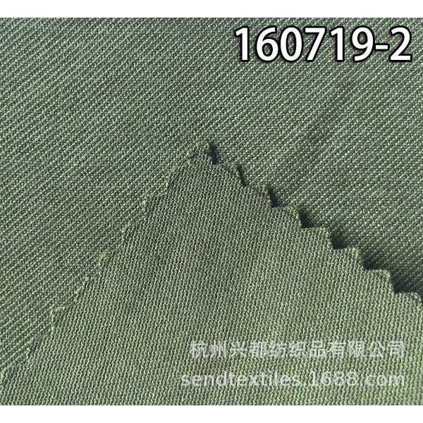 160719-2涤人棉经向涤纶 纬向人棉斜纹面料