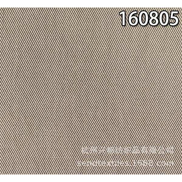 160805天丝麻斜纹面料 中高档梭织外套面料