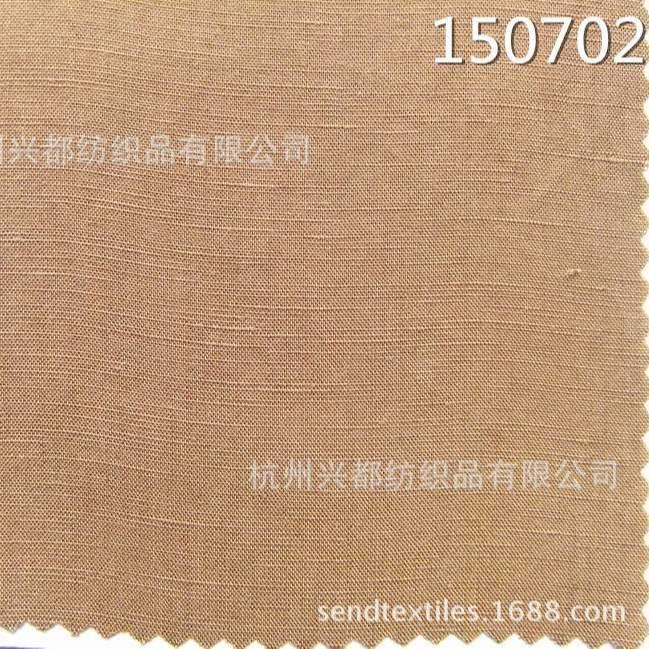 150702天丝麻交织服装面料