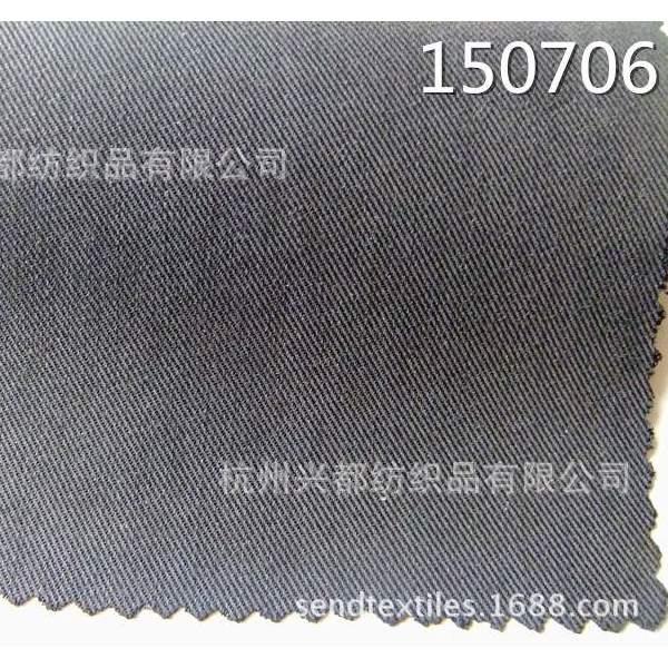 150706斜纹天丝涤纶交织面料