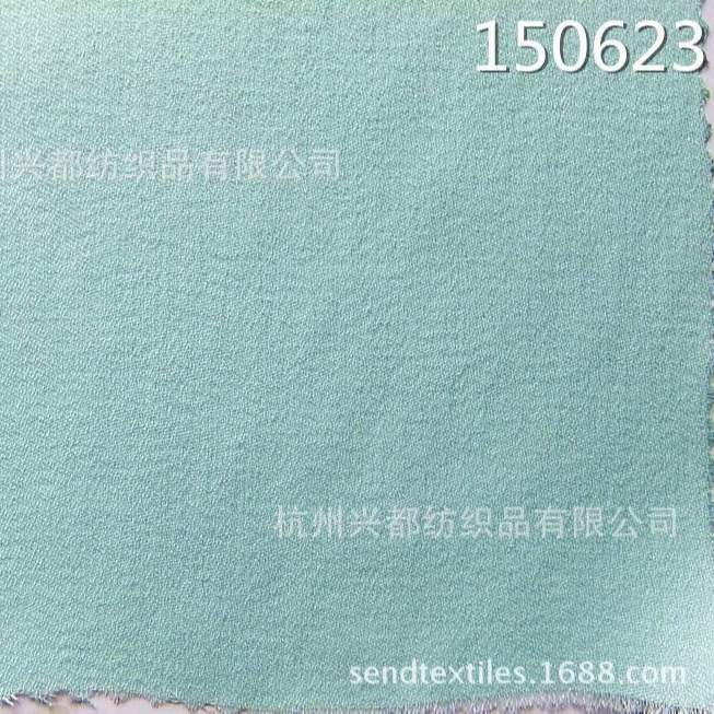 150623多丽丝人棉交织缎纹时装面料