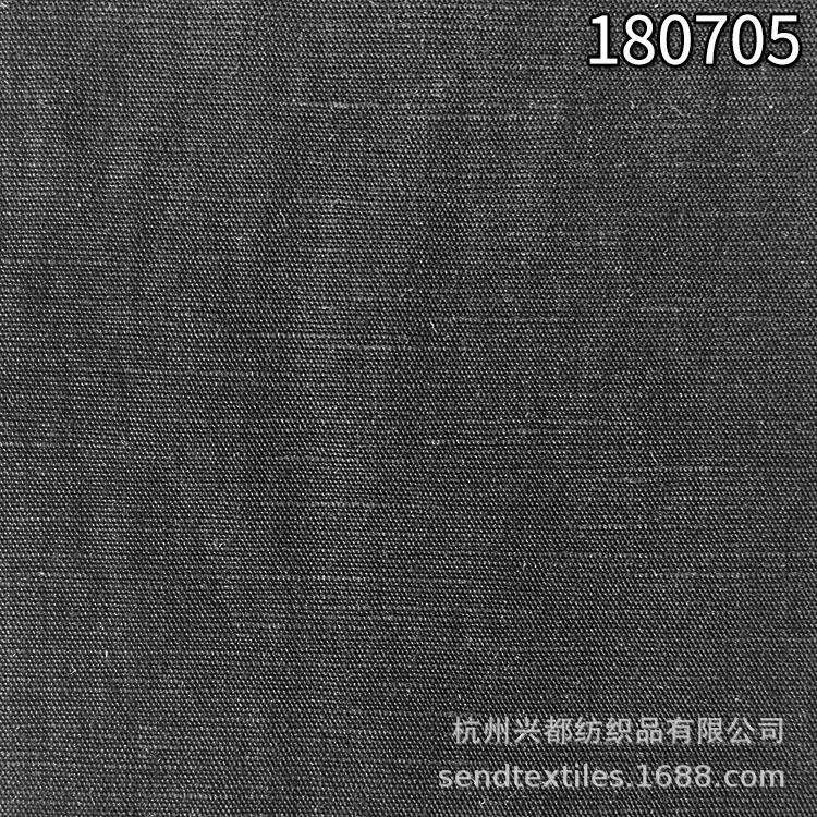180705天丝麻平纹衬衫面料 78%天丝22%麻休闲时装面料