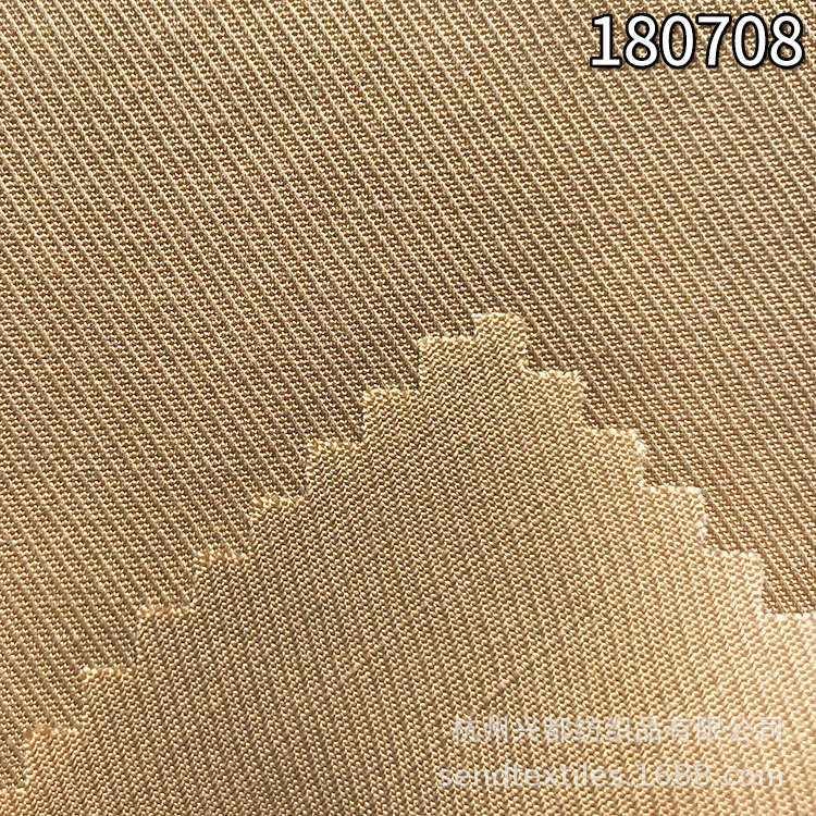 180708天丝麻骑兵斜纹面料 莱赛尔服装休闲外套面料