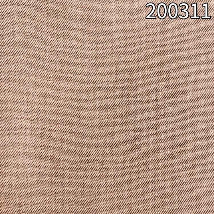 200311天丝麻斜纹面料 长车砂洗工艺莱赛尔天丝麻面料