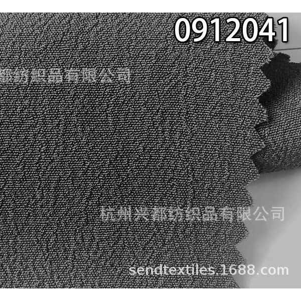 0912041人丝人棉富丽绉面料