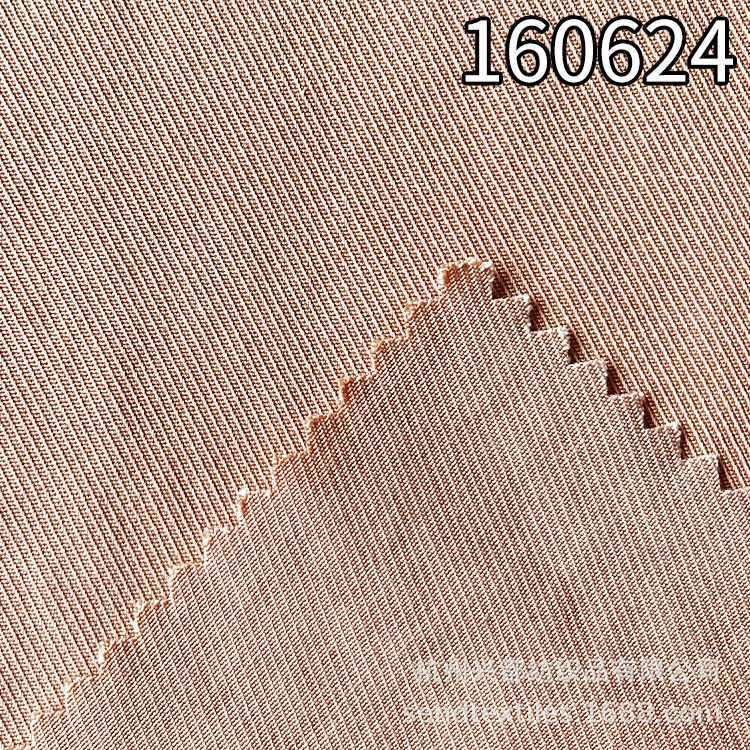 160624骑兵斜纯天丝莱赛尔服装外套面料