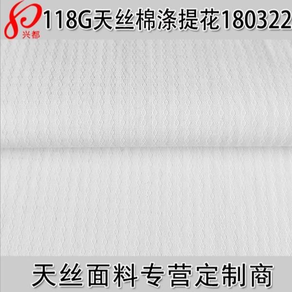180322天丝棉涤纶提花衬衫面料