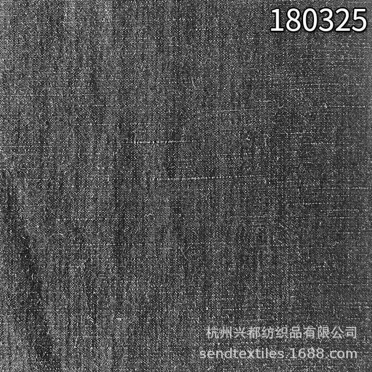 180325锦纶单丝天丝麻平纹面料