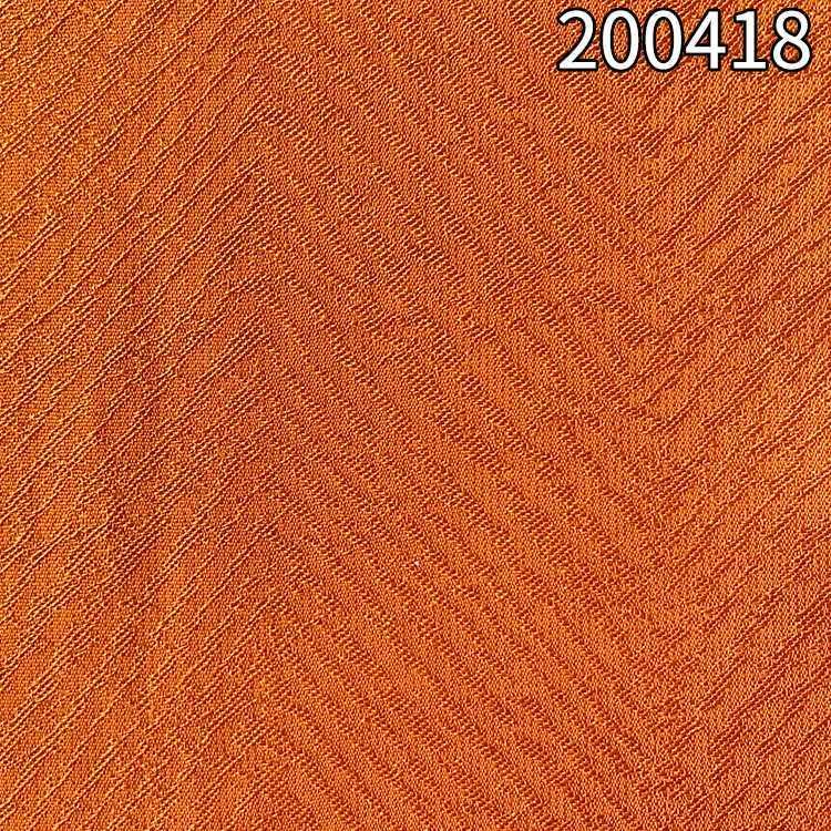 200418 加捻涤天丝提花春夏连衣裙面料