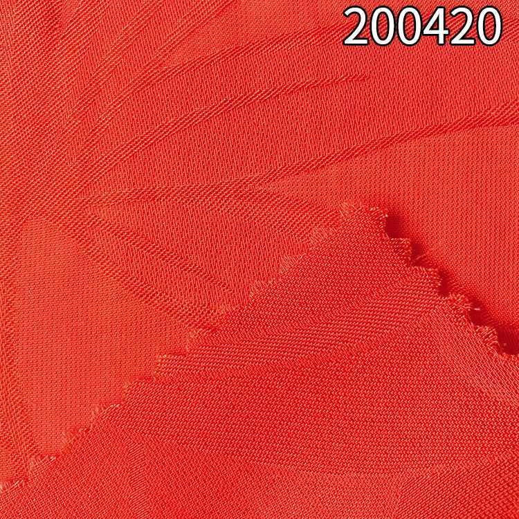 200420加捻大提花涤天丝春夏休闲服装面料