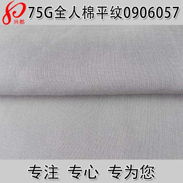 0906057人棉平纹夏季服装面料