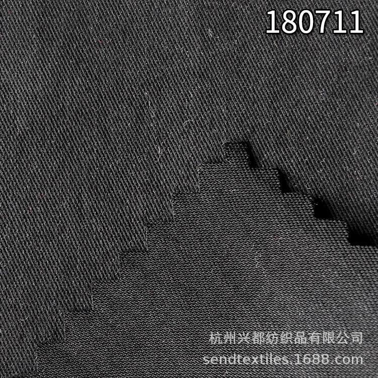 180711天丝T400斜纹风衣面料 莱赛尔天丝T400女装面料