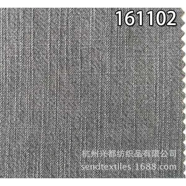 161102天丝棉经纬竹节面料 服装外套面料
