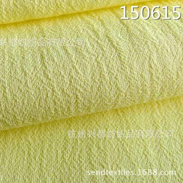 150615梭织人丝人棉绉布   女装连衣裙面料