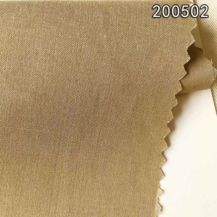 200502棉莫代尔府绸长车春夏衬衫连衣裙面料