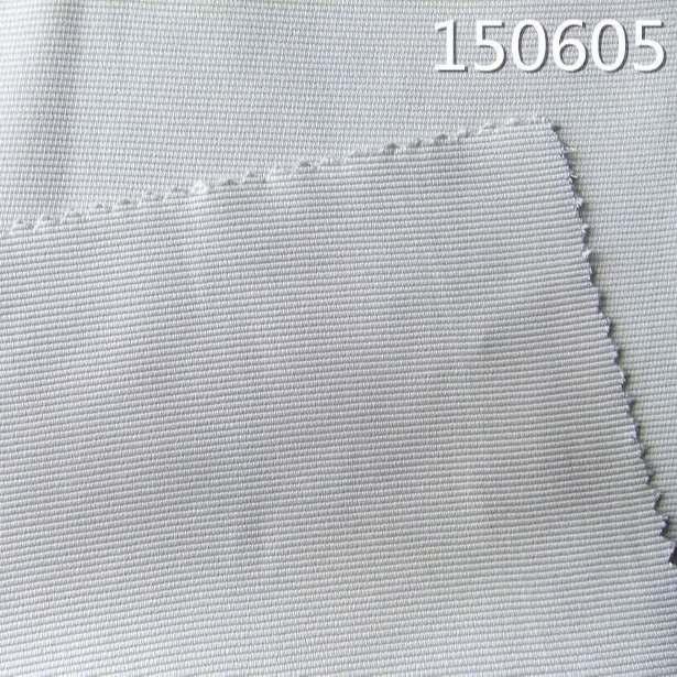 150605加捻人丝棉交织横条纹面料