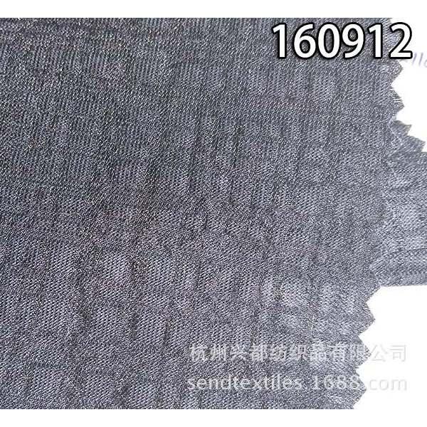 160912锦天丝绉布 泡泡绉时尚女装面料