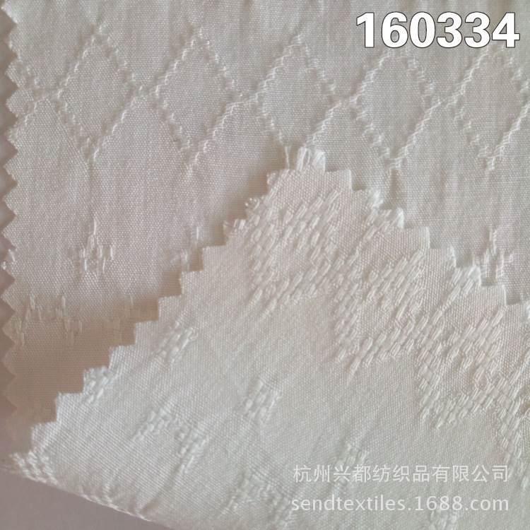 160334人棉提花 透气时装面料