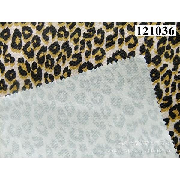121036天丝棉弹力斜纹印花布