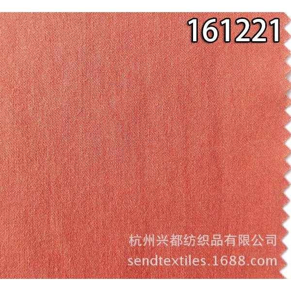 161221天丝棉交织缎纹布 休闲裤子风衣时装面料