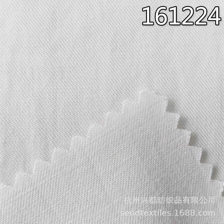 161224天丝棉麻混纺交织斜纹面料