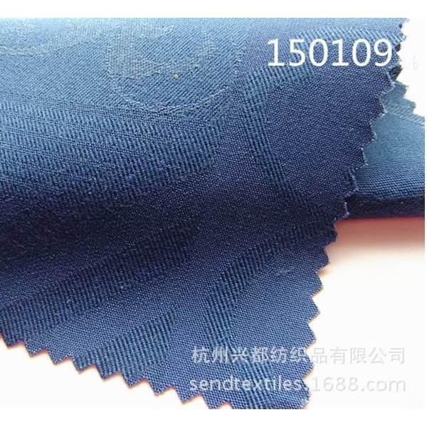 150109大提花人棉天丝服装面料