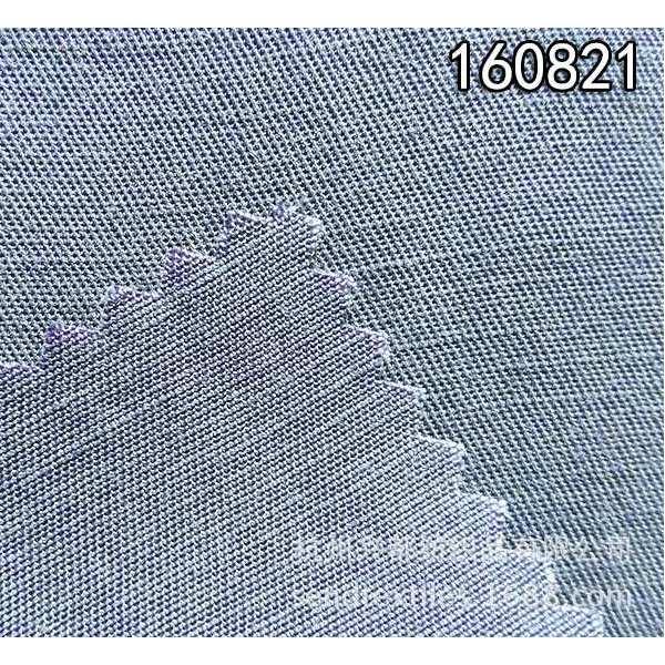 160821斜纹天丝麻交织高档女装服装面料