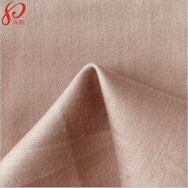 190324竹纤维棉高密贡缎 四件套家纺床品面料供应