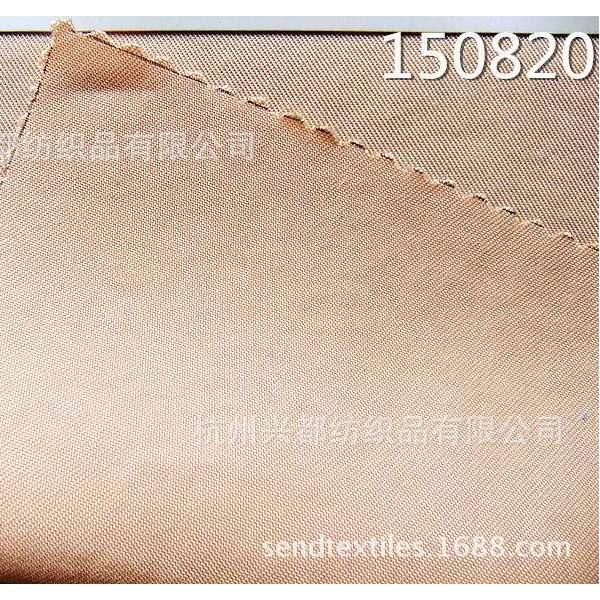 150820梭织天丝涤纶斜纹风衣面料