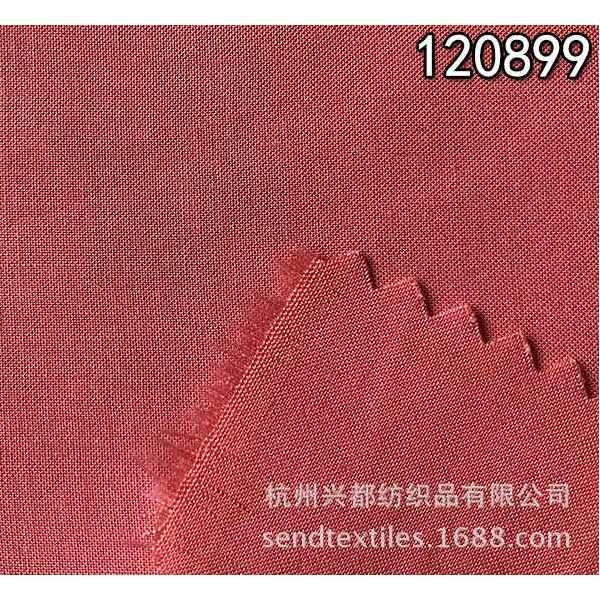 120899双面斜全天丝衬衫面料
