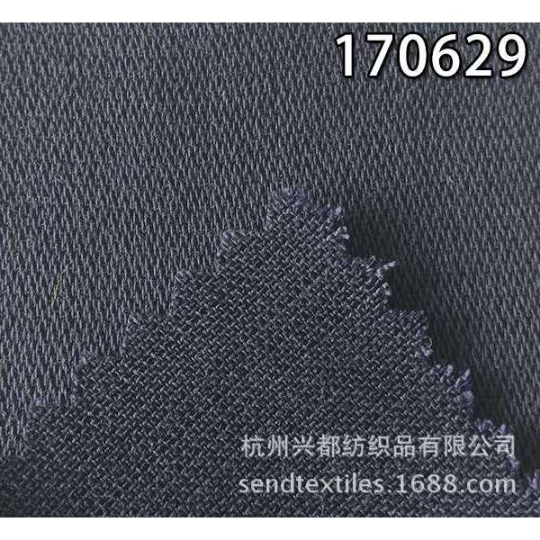 170629天丝涤竹节缎纹面料