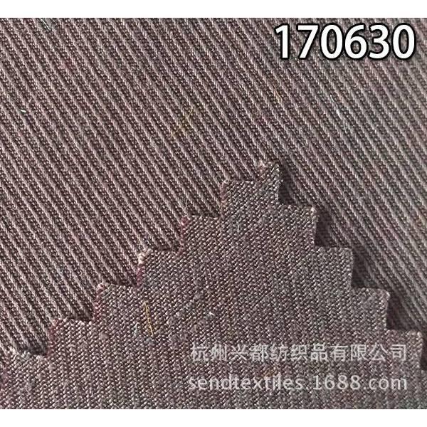 170630天丝麻骑兵斜服装面料