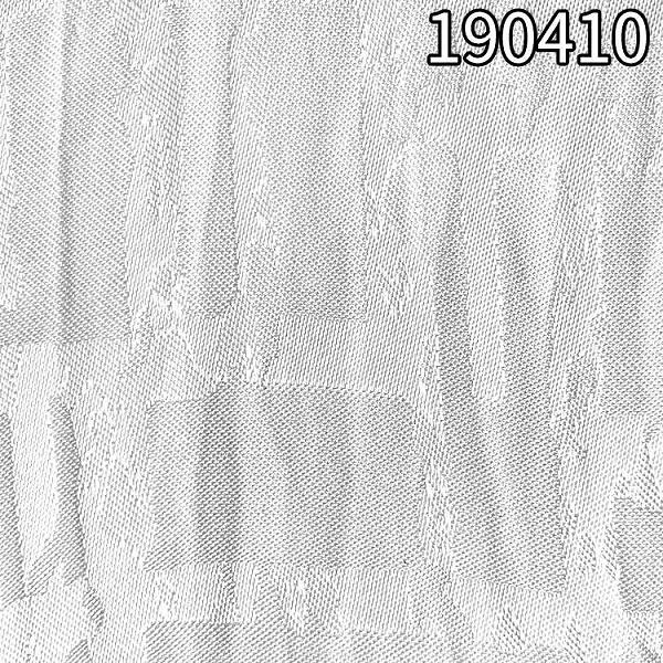 190410人丝人棉大提花面料 107g粘胶面料不规则提格子面料