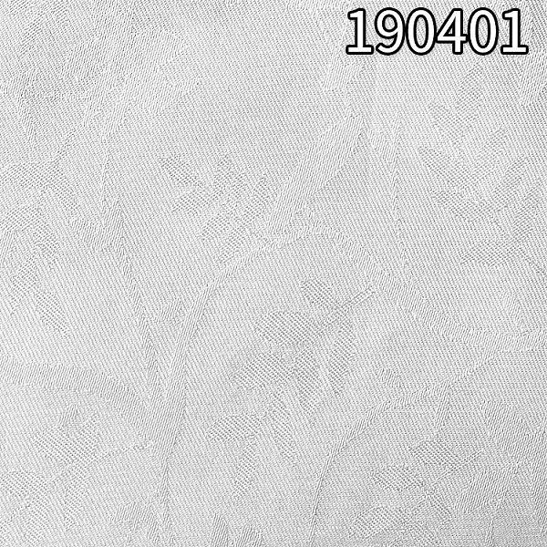190401加捻人丝人棉提花面料 人丝人棉底提花印花面料