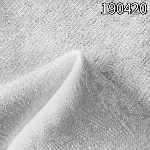 190420新款人丝人棉大提花面料 75D*30S 提花面料