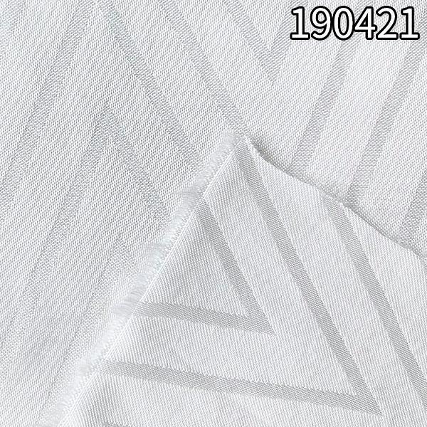 190421人丝人棉山字大提花 人丝人棉提花面料