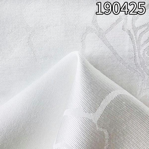 190425人丝人棉大提花服装面料 47%人丝53%人棉提大花面料